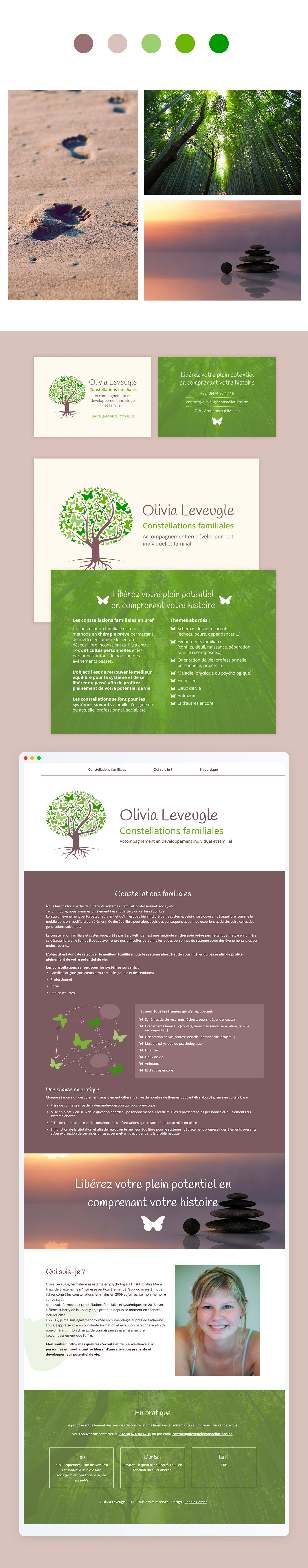 Olivia Leveugle identité graphique
